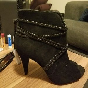 Vince Camuto Black Women's Booties